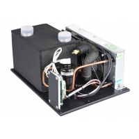 Quality Portable mini 12V/24V/48V DC micro air conditioner use for wine cabinet for sale