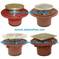 Buy cheap 1100 series Cast Iron Floor Drain Body with No-Hub and Push On Outlet from wholesalers