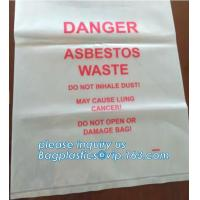 Buy cheap BIOHAZARD AUTOCLAVABLE,ASBESTOS, MEDICAL WASTE DISPOSAL SACKS, PATIENT BELONGING,SPECIMEN SAMPLING BAGS product
