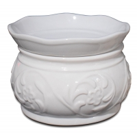 Buy cheap Electric ceramic aroma candle warmer fragrance oil burner wax melter with hotplate heating from wholesalers