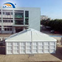 Buy cheap Hot Sales High Quality Double Side PVC-Coated Fabric Arcum Party Tent With ABS Walls from wholesalers