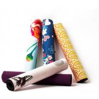Buy cheap China qualtiy sweat absorbing colorful anti-slip suede rubber yoga mat sports from wholesalers