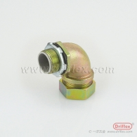 Buy cheap LIQUID TIGHT IP68 COLOR ZINC GALVANIZED 90 DEGREE ELBOW from wholesalers
