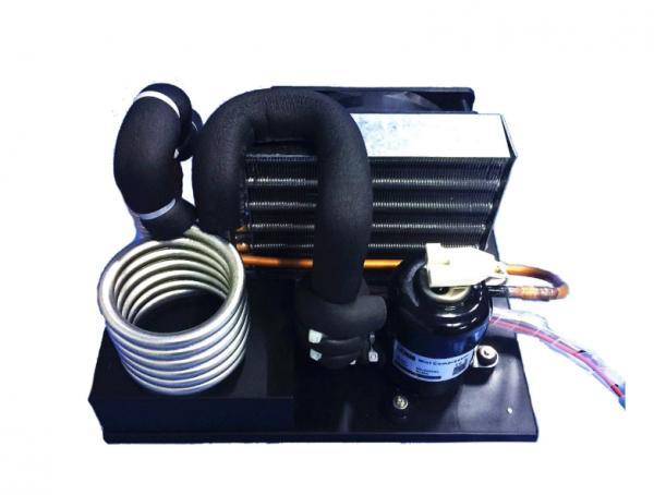 Buy cheap 24V/12V 48 v 72 v 120 v Rotary Mini BLDC Compressor for Portable Refrigerator from wholesalers