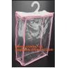 Buy cheap HANGER HOOK BAGS,GARMENT BOTTON CLOSURE BAGS, EVA FROST DRAWSTRING BAGS, VINYL HANGER HOOK BAG from wholesalers
