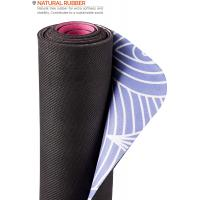 Buy cheap Anti slip Yoga Pilates Gymnastics Mat with Carrying Strap - 2 in 1 Mat and Towel - Natural Rubber Eco from wholesalers