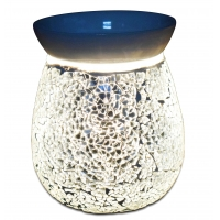 Buy cheap Mosaic electric glass candle warmer oil burner wax melter fragrance scent tabletop tart warmer from wholesalers