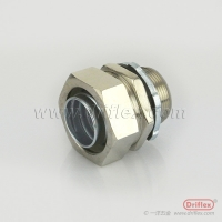 Buy cheap LIQUID TIGHT IP68 NICKEL PLATED BEASS STRAIGHT CONNECTOR from wholesalers