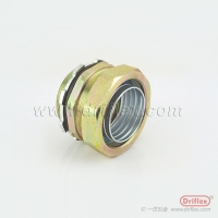Buy cheap LIQUID TIGHT IP68 COLOR ZINC GALVANZIED STRAIGHT CONNECTOR from wholesalers