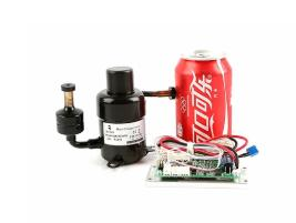 Buy cheap DC 12VDC micro hermetic portable rotary R134a small refrigeration mini compressor from wholesalers