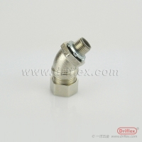Quality LIQUID TIGHT NICKEL PLATED BRASS 45 DEGREE ELBOW for sale