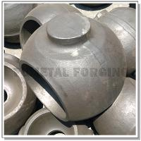 China A182 F51 Duplex Stainless Steel Ball For Ball Valve | Closed Die Forging on sale