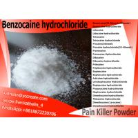 Buy cheap Pain Killer Local Anesthetic Drugs Benzocaine HCl Benzocaine Hydrochloride CAS 23239-88-5 from wholesalers
