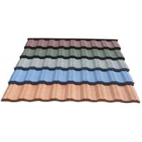 China SC Approved Stone Coated Metal Shingle Roofing Tile on sale