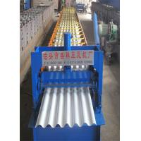 Buy cheap 750 Wave Corrugated Color Steel Roll Forming Machine Raw Material PPGI / GI Steel Sheet from wholesalers