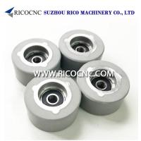 Buy cheap Edge Banding Machine Tools Rubber Pressure Roller Wheels with Bearing for Edgebanders Machine from wholesalers