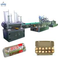 Buy cheap Farm chicken eggs labeling machine with eggs expiry date printing machine ,egg box labeling machine with egg tray from wholesalers