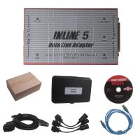 Buy cheap Red Truck Diagnostic Tool Cummins INLINE 5 INSITE 7.62 Data Link Adapter from wholesalers
