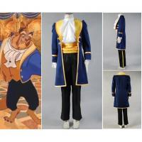 Buy cheap Princess Dress Wholesale Blue Beauty and the Beast Prince Adam Cosplay Costume Jacket Shirt Pants Cartoon from wholesalers