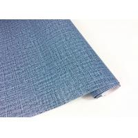 Buy cheap Blue Dark Green Damask Self Adhesive Wallpaper Mould - Proof Weave Textured from wholesalers