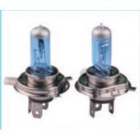 Buy cheap Car H4 yellow and blue car halogen light bulbs with high quality heat resistance shell from wholesalers
