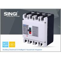 Buy cheap SINGI SWM1 4P 225A 400V 50/60 HZ mould case safety circuit breaker product