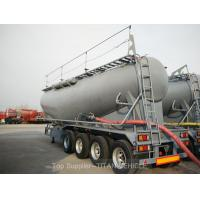 Buy cheap TITAN 60m3 Dry cement tank trailer 4 axle 80 tons capacity cement bulkers for Pakistan from wholesalers