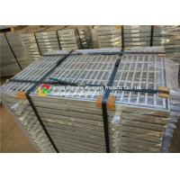 Buy cheap Fish Tail Galvanized Steel Walkway Grating Iron Material High Strength product