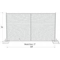 """Buy cheap 6' x 10' """"Smart Kids"""" temporary chain link fence panels chain mesh opening 57mm x 57mm x 3.00mm from wholesalers"""