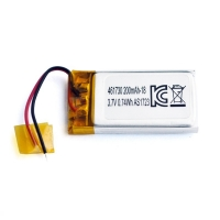Buy cheap UN38.3 200mAh 3.7 V Lithium Polymer Battery Pack PL461730 product