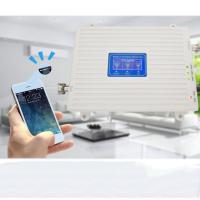 Buy cheap mobile phone signal booster repeater GSM home amplifier 2g 3g 4g with antenna for indoor using from wholesalers