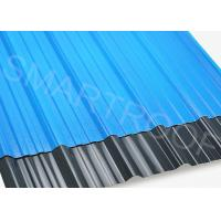 Buy cheap 1132 MM Width ASA Plastic Corrugated Sheet With Embossed Surface from wholesalers