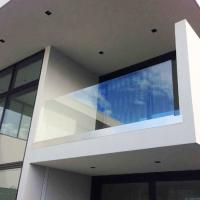 Buy cheap Outdoor balustrade system, U channel glass railing , glass balustrade U Channel Glass Terrace Railing U channel glass ba from wholesalers