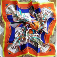 Buy cheap silk satin neckwear, small Square silk scarf, silk satin scarves product