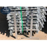 Buy cheap Silver Green Barbed Wire Fence Post Used On Wall High Rust Resistance from wholesalers