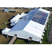 Buy cheap Large 30 x 70m Aluminium Frame Marquee Tent With PVC Sidewall And Beautiful Inner Decoration from wholesalers