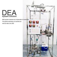 Buy cheap 220V 60HZ Continuous Distillation Column , Small Distillation Column Short Residence Time from wholesalers