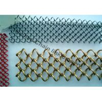 Buy cheap Stainless Steel Flexible Metal Mesh Drapery With 1.2MM Wire For Interior Drepary from wholesalers