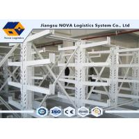 Buy cheap Durable Double Sided Cantilever Steel Rack Plastic Powder Coating For Warehouse from wholesalers