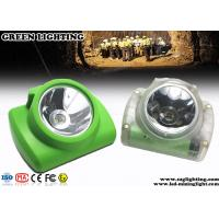 Buy cheap Coal Emergency Cree Led Miners Cap Lamp , IP68 PC Material Miner Headlight  from wholesalers