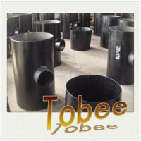 Buy cheap A234 Wpb Carbon Steel Seamless reducer Tee from wholesalers