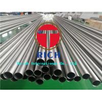 Buy cheap Heat Exchanger Seamless Titanium Tubing ASTM B338 Gr2 Material 0.3 - 5mm Wall Thickness from wholesalers
