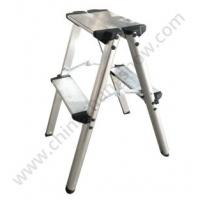 Buy cheap Double Side Aluminum Step Ladder Stool from wholesalers