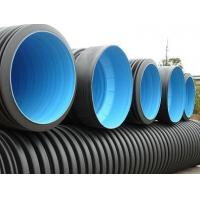 Buy cheap HDPE corrugated drain pipe/HDPE tube/HDPE corrugated pipe from wholesalers