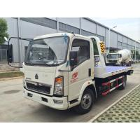 Buy cheap Mini  Howo 4 x 2  Light Duty Commercial Trucks ,  5t Towing Wrecker Truck from wholesalers