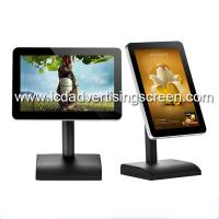 Buy cheap Restaurant information 10.1inch LCD display desk ordering rotate Android wifi PCAC  touch LCD menu board from wholesalers