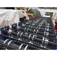 Buy cheap 8 - 12 M / Min Double Layer Roll Forming Equipment 7.5Kw Cold Roll Forming Machine from wholesalers