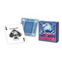 Buy cheap Bilingual Cartamundi Eagle Marked Poker Playing Cards For Cheating / Magic Tricks from wholesalers
