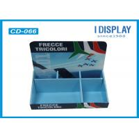 Buy cheap 2 Tier Cardboard Counter Display , Retail Counter Display Rack  For LED Lights from wholesalers