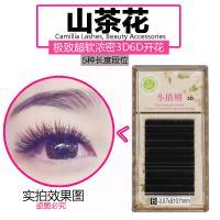 Professional Mink Semi Permanent Eyelashes , 3D Individual Eyelash Extensions
